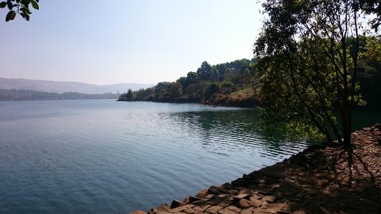 Kamshet, India: HQ is located by the lake.