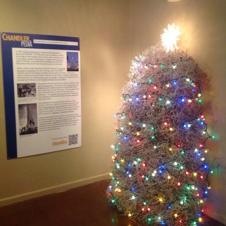 Chandler Museum: The Chandler Tumbleweed Christmas Tree - The Chandler Tumbleweed Christmas Tree - Picture Of Chandler Museum