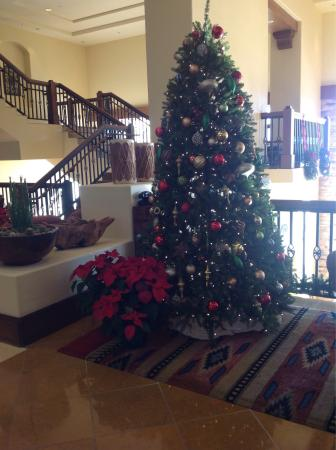 Beautifully Decorated For Christmas Picture Of Jw Marriott Tucson