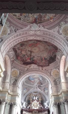 Szentgotthard, Венгрия: Ceiling inside church