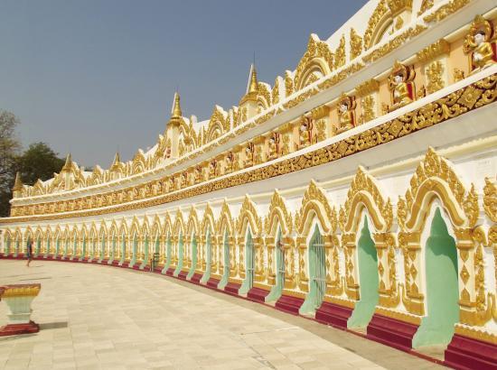 Shwekyimyint Paya : L'edificio esterno