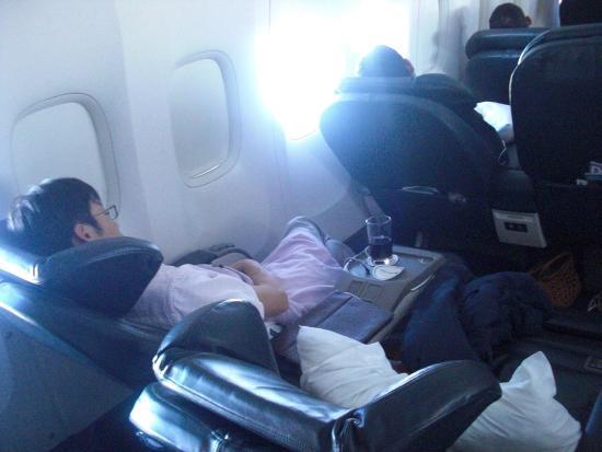 ビジネスシート - Foto de United Airlines, Mundo - TripAdvisor