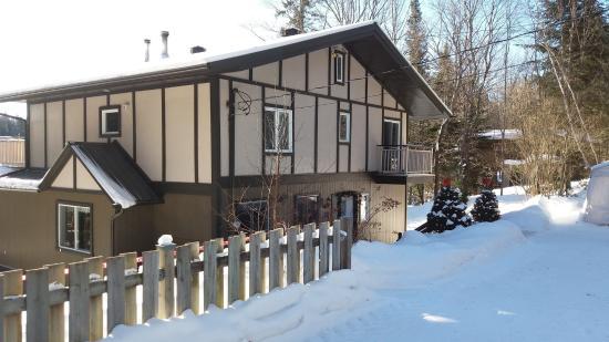 le chalet sous la neige picture of les terrasses du lac entrelacs tripadvisor