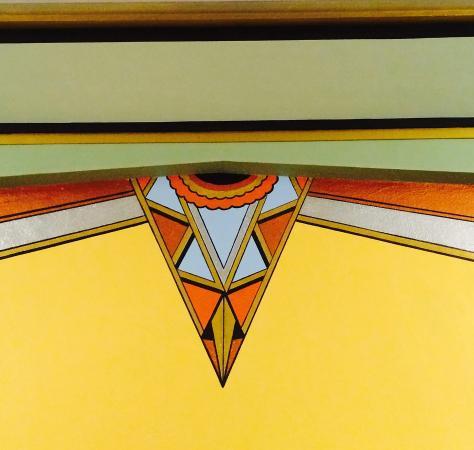 Criterion Theater : Art Deco detail