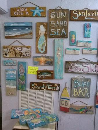 Nice Selection Of Beach Themed Art For Gifts