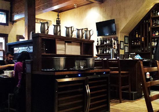 Burgoo: The interior of the restaurant
