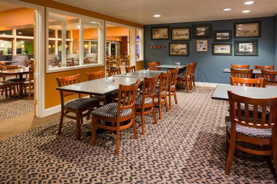 Detroit Lakes, MN: Historic Ice Cutter Room off Ice House Restaurant