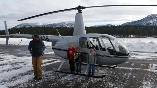 South Lake Tahoe, CA: Pre-flight!