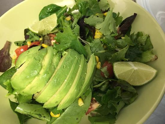 Fishnet: Avocado Salad