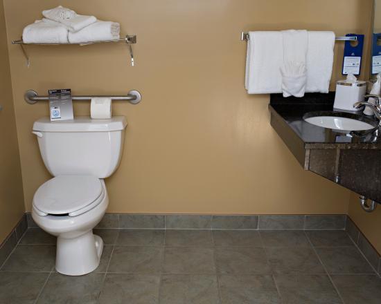 BEST WESTERN PLUS Grand-Sault Hotel & Suites: Accessory Bathroom