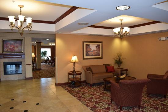 Sparta, IL: Hotel Lobby