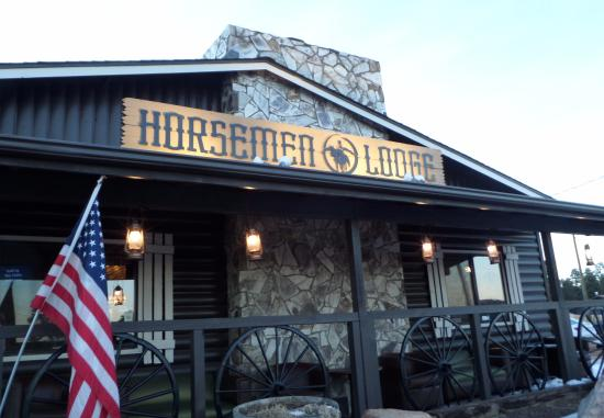 The Horsemen Lodge  Casual Dining 2 Rooms Full Service Bar Picture Of