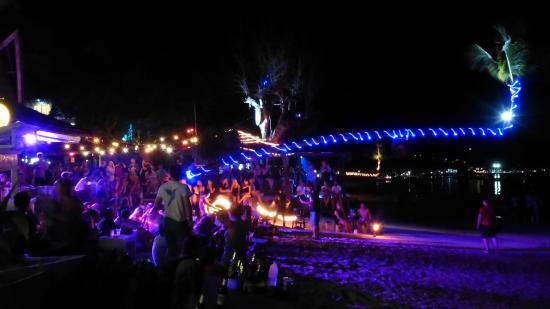 Anankhira Villas: Sairee Beach Abends
