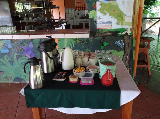 Las Islas Lodge: In attesa di una delle 6 possibilità di colazione