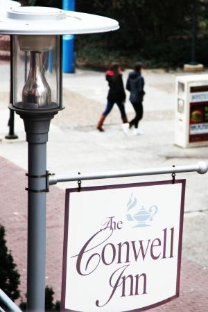 Welcome to The Conwell Inn (View from 209)