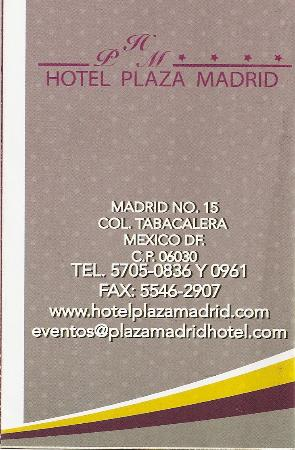 Plaza Madrid: Latest address & phone!