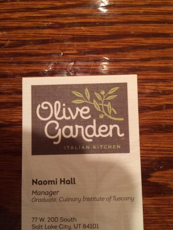 olive garden photo0jpg - Olive Garden Salt Lake City