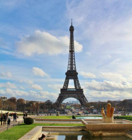 View From Trocadero To Tower Picture Of Trocadero Paris