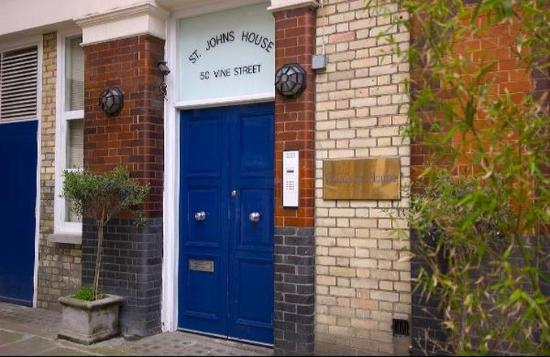 Oakwood St. Johns House: Entrance