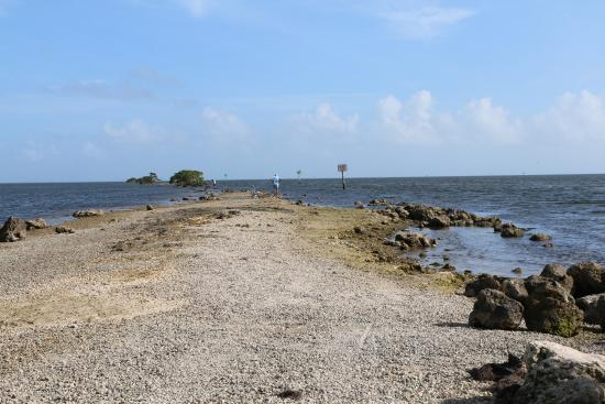 Homestead, FL: End of Jetty Trail in Biscayne Bay