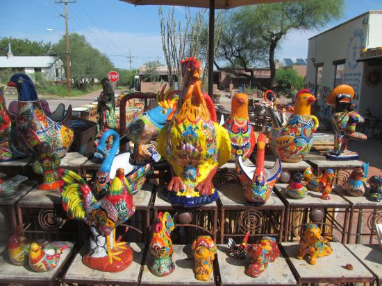 Tubac, Αριζόνα: Where else can one find this gorgeous pottery?