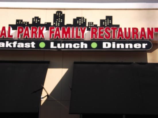 Central Park Family Restaurant: Central Park Restaurant New Port Richey fl.