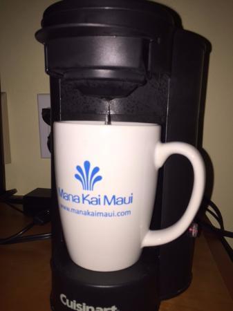 Mana Kai Maui: In room coffee service.