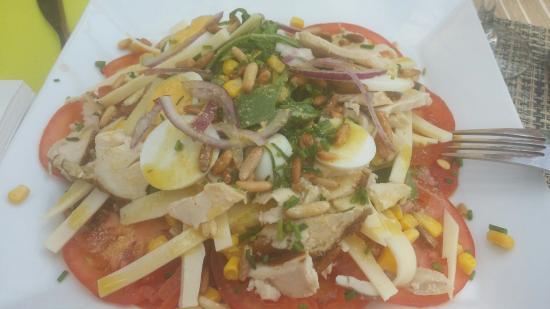 Palm Café : Superbe salade