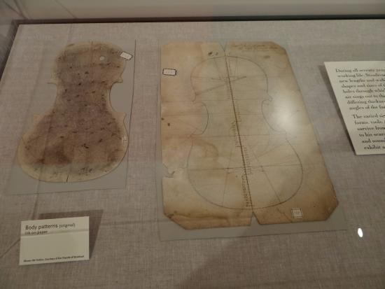 Stradivarius Violin Templates Photo De Musical Instrument Museum