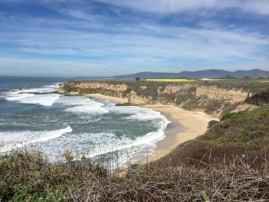 Cowell Ranch State Beach View Of From Trail