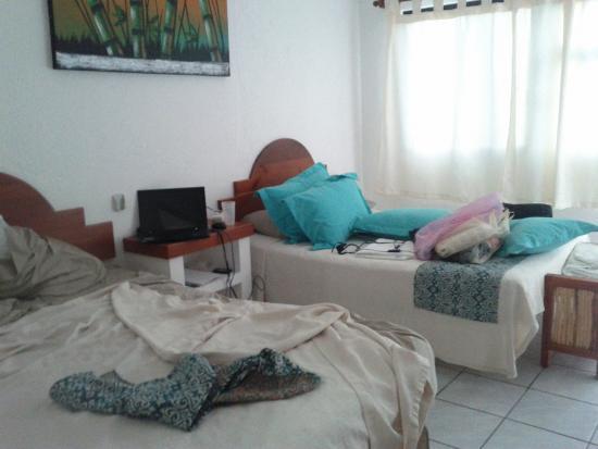 2 beds bedroom hotel eden puerto morelos