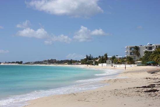 Simpson Bay, St Martin / St Maarten: The Beach Where We Stopped