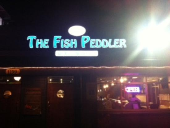 The Fish Peddler on Foss Waterway: The Fish Peddler entrance