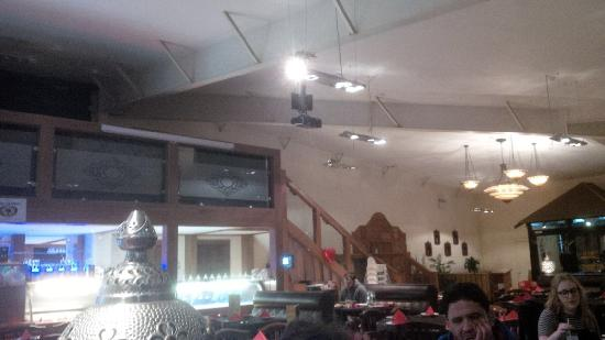 Serving Area Picture Of Village Curry House Glasgow