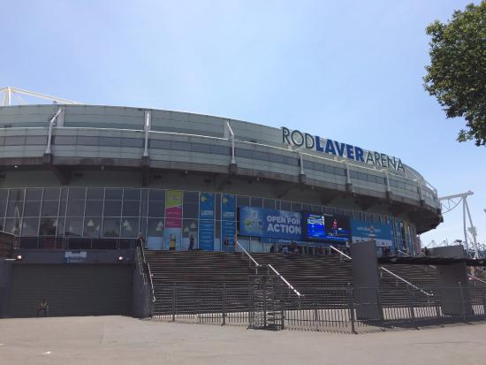Rod laver arena picture of rod laver arena melbourne for Door 9 rod laver arena