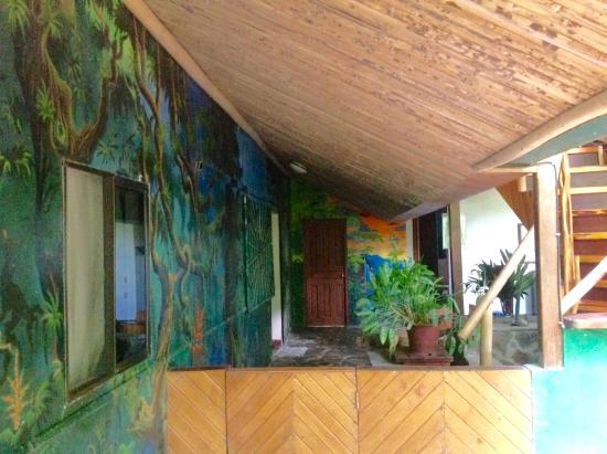 La Chosa del Manglar: Casa Manglar main hall