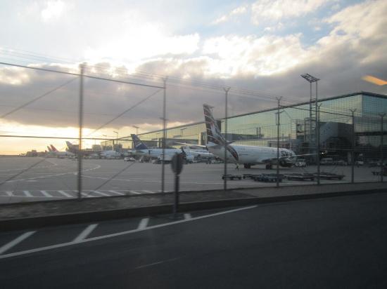 Frankfurt Airport Visitors Terrace Bild Von Besucherterrasse