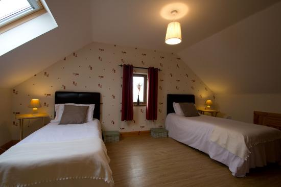 Sperrin View Cottages: twin bedroom