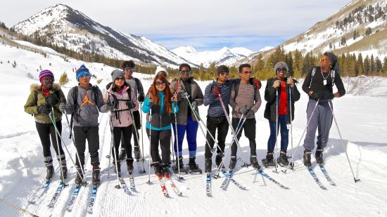 Crested Butte Nordic Center: Nordic Center equipment and trail passes...helping these kids have an amazing weekend!