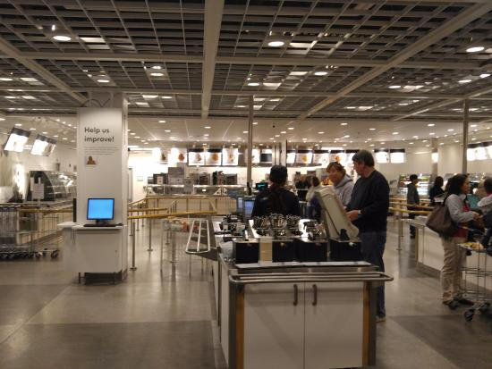 Return your tray here picture of ikea charlotte for Ikea outlet charlotte nc