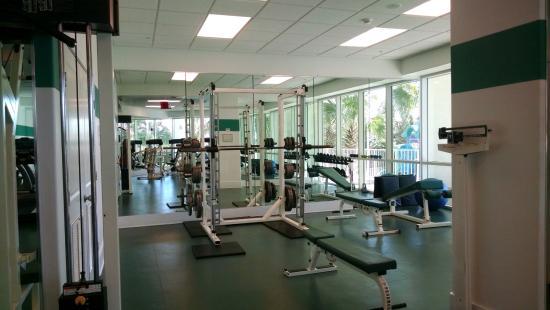 Caribe Resort Fitness Room