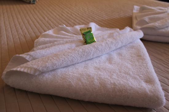 Beachmere, Australie : Fresh, fluffy towels...