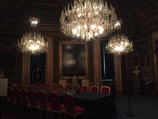"""dining room"""" or for meetings - picture of royal palace, stockholm"""