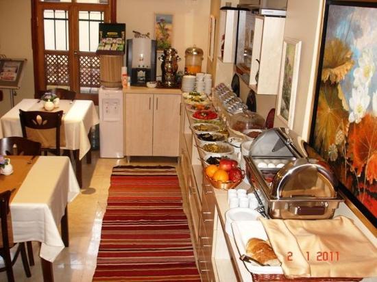 Hotel Sultan House: Breakfast bar of Sultan House Hotel