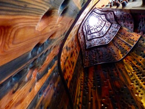 the inside of the sculpture from the historic schooner wawona rh tripadvisor com