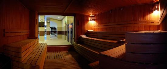 Blue Regency Hotel: Sauna