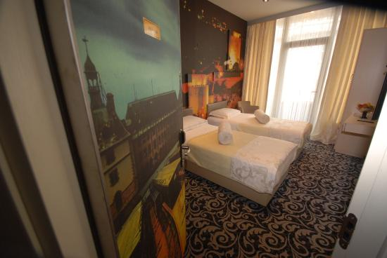 Galata Palace Hotel: DELUXE TWIN ROOM