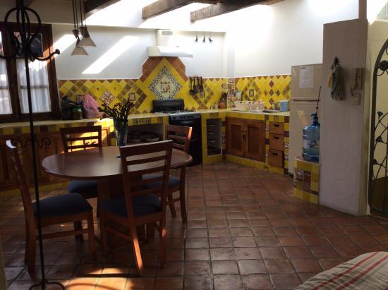 Kukurutz Residencia: Kitchen