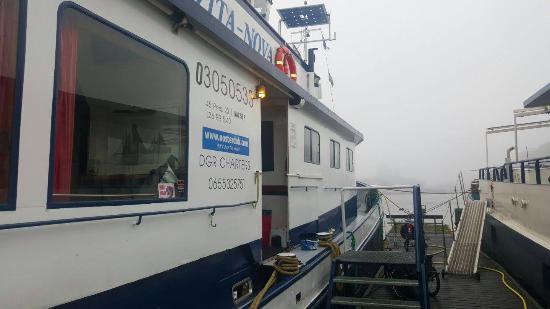 Vita Nova: Access to the boat
