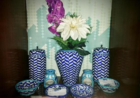 Aurea Blue Pottery